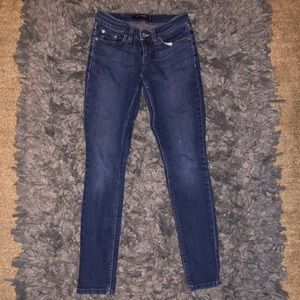 5/$20 Levi's too superlow size 0 skinny jeans